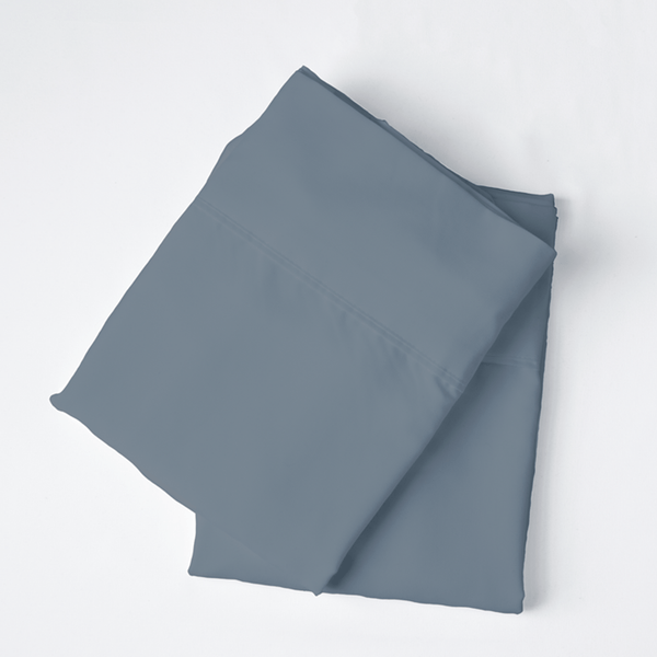 Load image into Gallery viewer, French Blue Pillowcase Set