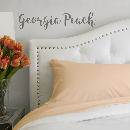 image of Georgia Peach Sheet Set