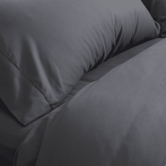 image of Graphite Gray Fitted Sheet