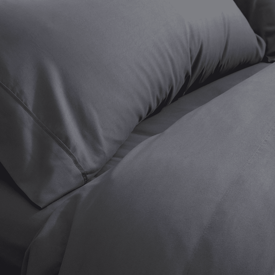 Graphite Gray Fitted Sheet