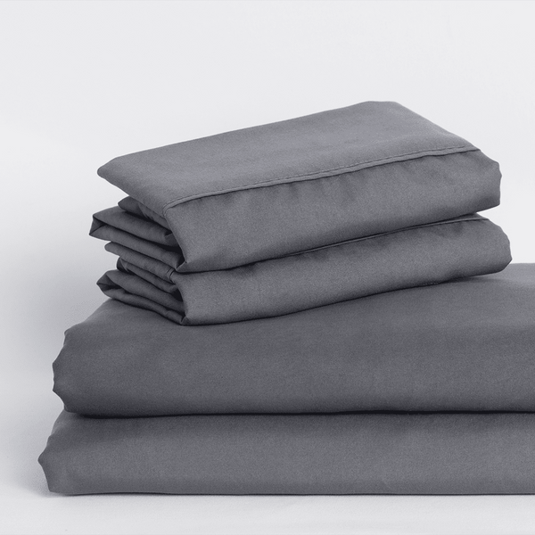 Load image into Gallery viewer, Graphite Gray Sheet Set