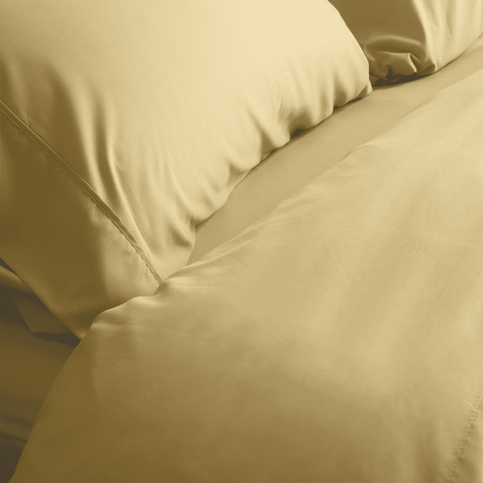 image of Harvest Gold Fitted Sheet