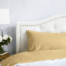 Load image into Gallery viewer, Harvest Gold Pillowcase Set