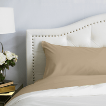 Load image into Gallery viewer, Light Mocha Pillowcase Set