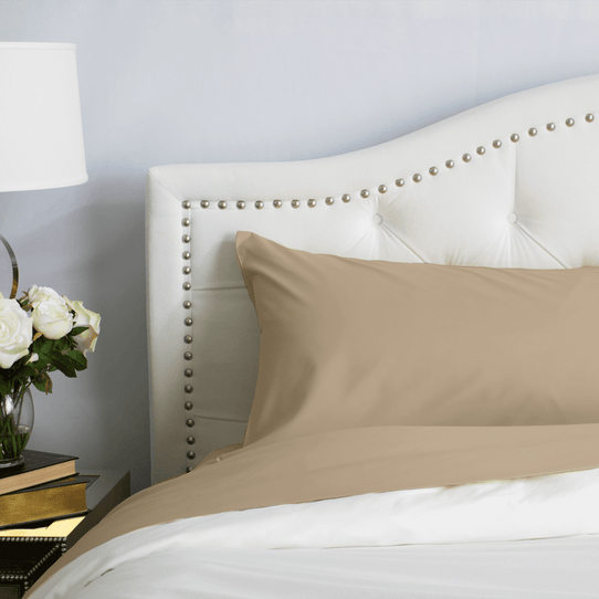 image of Light Mocha Pillowcase Set