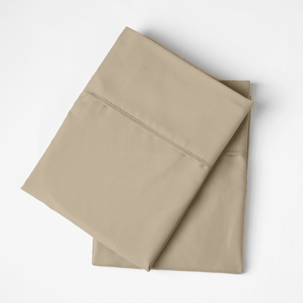 Light Mocha Pillowcase Set
