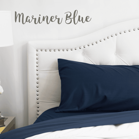 image of Mariner Blue Sheet Set