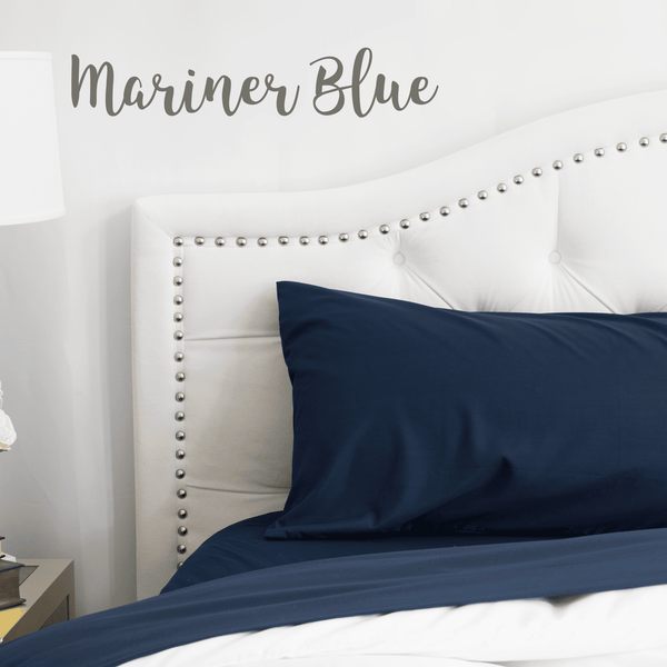 Load image into Gallery viewer, Mariner Blue Sheet Set