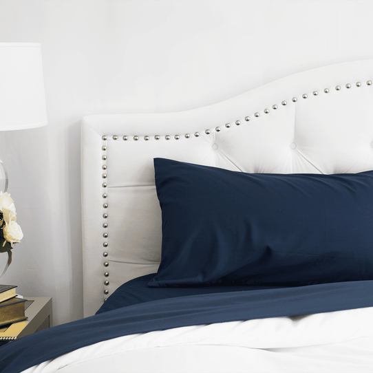 image of Mariner Blue Pillowcase Set
