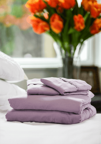 Load image into Gallery viewer, Vintage Plum Sheet Set