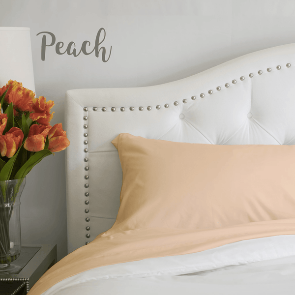 Load image into Gallery viewer, Georgia Peach Pillowcase Set