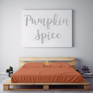 Pumpkin Spice Sheet Set