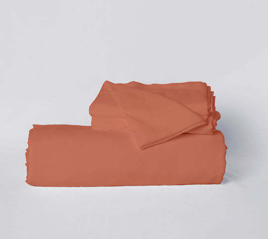 image of Pumpkin Spice Duvet Cover Set