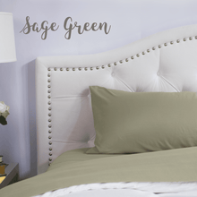 Load image into Gallery viewer, Sage Green Sheet Set
