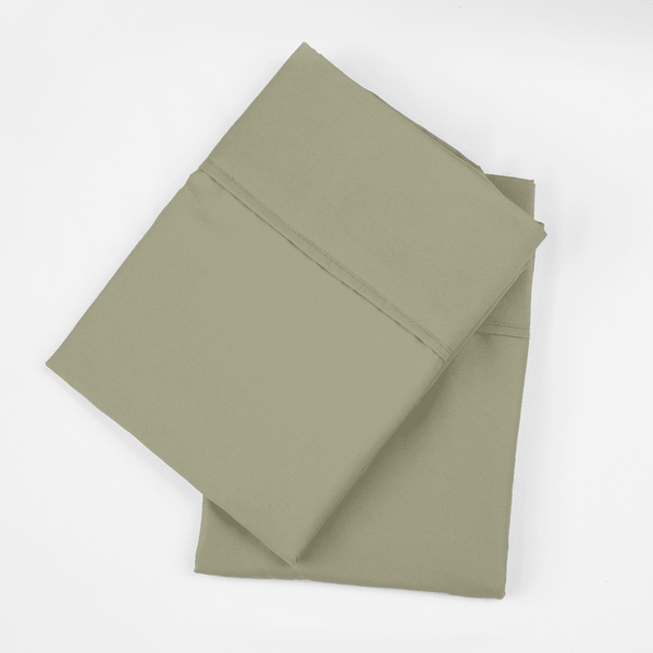 Load image into Gallery viewer, Sage Green Pillowcase Set