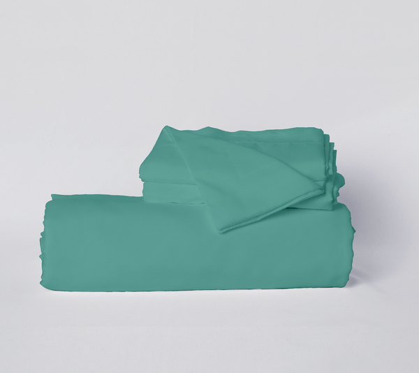 Load image into Gallery viewer, The Real Teal Duvet Cover Set