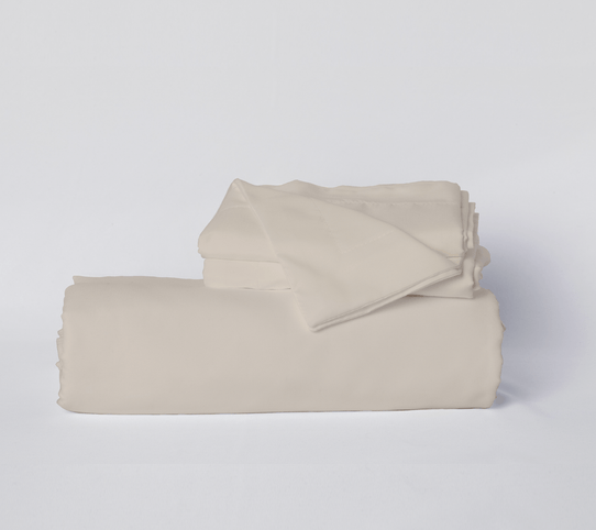 image of Toasted Marshmallow (Greige) Duvet Cover Set