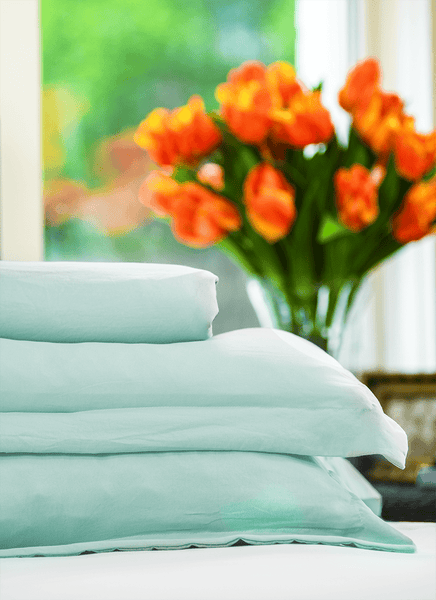 Load image into Gallery viewer, Vintage Seafoam Duvet Cover Set- Sold Out