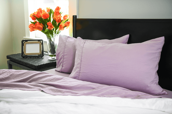 Load image into Gallery viewer, Vintage Plum Pillowcase Set- Sold Out