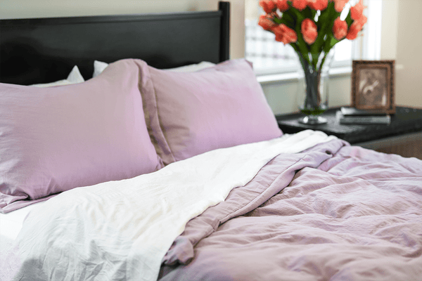 Load image into Gallery viewer, Vintage Plum Duvet Cover Set