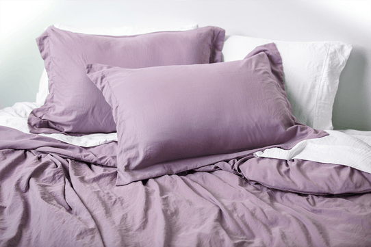 image of Vintage Plum Duvet Cover Set