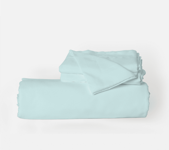 image of Beach Blue Duvet Cover Set
