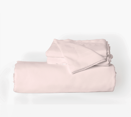 image of Cotton Candy Pink Duvet Cover Set