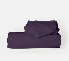 Load image into Gallery viewer, Eggplant Duvet Cover Set