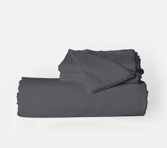 image of Graphite Gray Duvet Cover Set
