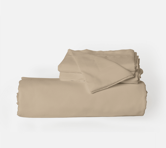 image of Light Mocha Duvet Cover Set