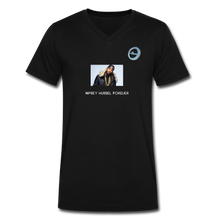 "Load image into Gallery viewer, ""Nipsey Hussle Forever"" Animation - Premium Men's V-Neck T-Shirt by Canvas - black"