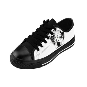 Premier DJ E-Luv *Official Logo - Custom Design Men's Low-Top Sneakers