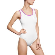 "Load image into Gallery viewer, P.M. - ""Perfect Makeup"" Line *On Sale* - Women's Classic One-Piece Swimsuit"