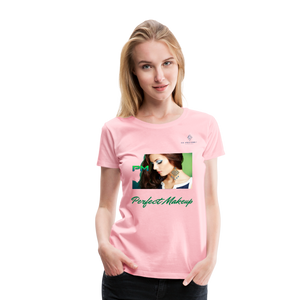 "P.M. -""Perfect Makeup"" Line - Finally Flawless Soft Premium T-Shirt - pink"