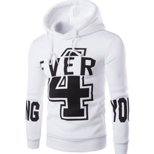 Load image into Gallery viewer, Men'S New Fashion Digital 4 English YOUNG Printing Design Hoodies