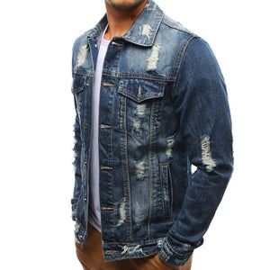 Men's Jeans Holes Beggars Jackets