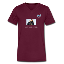 "Load image into Gallery viewer, ""Nipsey Hussle Forever"" Animation - Premium Men's V-Neck T-Shirt by Canvas - maroon"