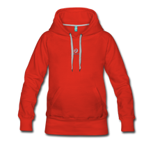 Load image into Gallery viewer, Next Level *Official Long Sleeve Women's Premium Hoodie - red