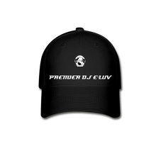 Load image into Gallery viewer, Premier DJ E-Luv - Stylish Black Baseball Cap II - black