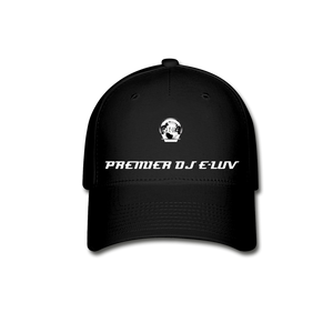 Premier DJ E-Luv - Stylish Black Baseball Cap II - black