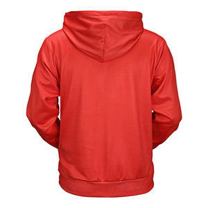 Kangaroo Pocket Chill Front-Print Men's *Breathable Hoodie