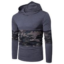 Load image into Gallery viewer, Hooded Mesh Camouflage Panel T-shirt