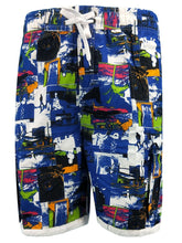 Load image into Gallery viewer, Men's Figure Print *Breathable Drawstring Hem Beach Shorts