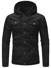 Load image into Gallery viewer, Casual Patchwork Drawstring Men's *Breathable Hoodie Jacket