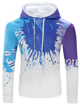 Load image into Gallery viewer, Paint Splatter Long Sleeve Hoodie