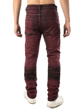 Load image into Gallery viewer, New Style Color Wash Stretchy Ripped Jeans