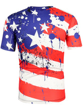Load image into Gallery viewer, Splatter Painting Short Sleeves T-shirt