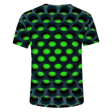 Load image into Gallery viewer, Burning Honeycomb Briquette Graphic Tee Men
