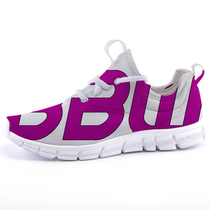 """Beautiful Black Women"" Line - Women's *Breathable Purple Sports Sneakers"