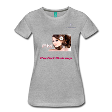 "Load image into Gallery viewer, P.M. - ""Perfect Makeup"" Line - The Boyfriend Soft Premium T-Shirt - heather gray"